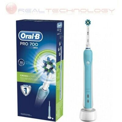 Cepillo Eléctrico Oral-B Pro 1 700 Crossaction Recargable Tecnología 3D