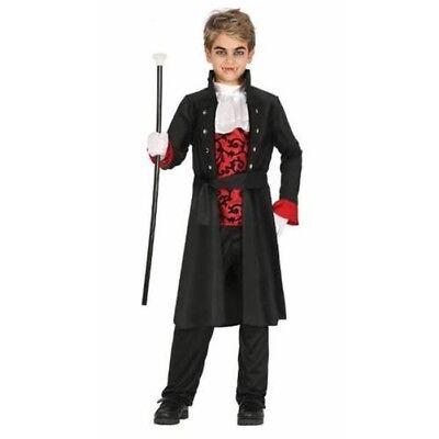Vampir Gothic Halloween (Jungs Gothic Vampir Kostüm)