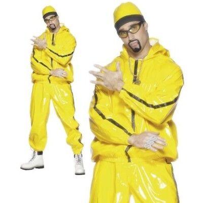90er Jahre Rapper Gangster Anzug Ali G Verkleidung Kostüm Herren - 90er Jahre Rapper Kostüm