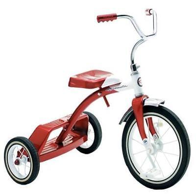 Roadmaster Classic Red Dual Deck Kid's Tricycle Trike (Dual Deck)