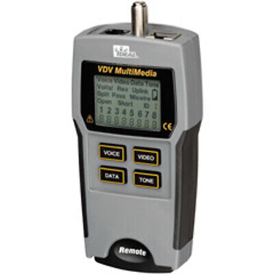 Ideal Industries 33-856 Vdv Multimedia Cable Tester