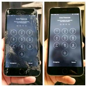 iphones & iPAD lcd screen repair, low cost call 7807428661