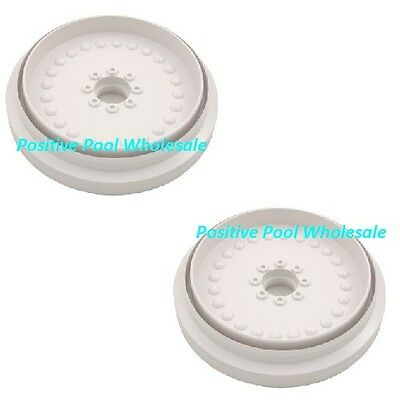 - Pentair Letro Legend Platinum Pool Cleaner 2 Pack White Wheel Part LLC6PM
