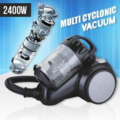 New 2400W Japan Akitas Neon Multi Cyclonic Bagless Vacuum Cleaner Free AU Post