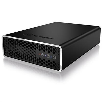 "ICY BOX IB-RD2253-U31 externes RAID System 2x 2,5"" SATA III SSD HDD an USB 3.1"