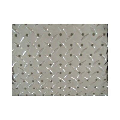 48 X 22 Aluminum Diamond Tread Plate Peg Board