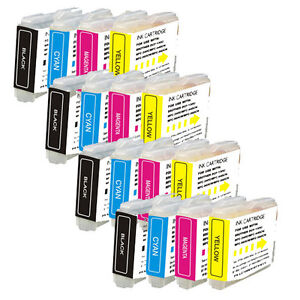 16 PK Brand New Ink Set for LC51 Brother MFC-230C MFC-240C MFC-440CN MFC-465CN
