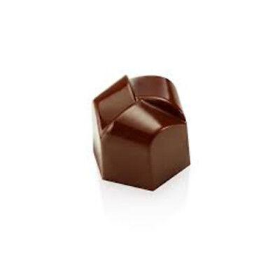 Pavoni Polycarbonate Chocolate Mold: Tangle 26x23mm x 21mm High, 21 Cavities 23 Chocolate Mold