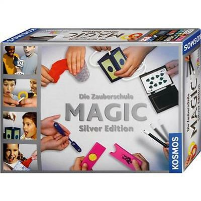 Kosmos 698225 - Zauberschule Magic - Silver Edition Zauberkasten 100 Tricks NEU