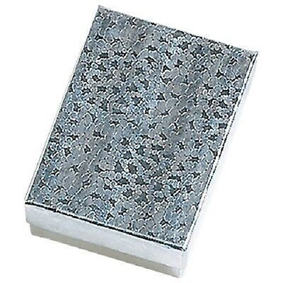 Wholesale 800 Silver Cotton Filled Jewelry Gift Boxes 2 18 X 1 58