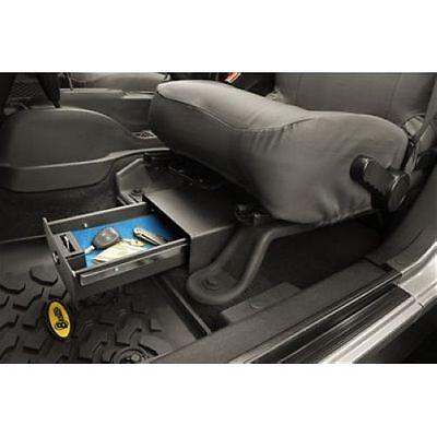 - Bestop 42640-01 Underseat Lock Box Black fits 2007-2017 Jeep Wrangler 2 & 4 Door