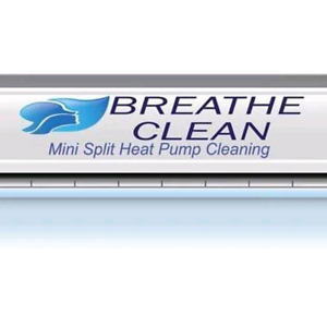 Ductless Heat Pump Cleaning by Breathe Clean