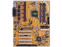 NEW uATX Desktop Motherboard AMD Socket FM2 A75 x4 Memory Slots DDR3 AAHD3-VC