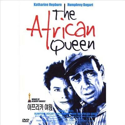 The African Queen (1951) DVD - Humphrey Bogart (NEW) / NO CASE (Only Cover&Disc)