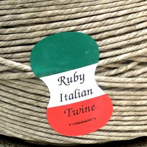 10 YARDS ITALIAN SPRING TWINE 4 PLY UPHOLSTERY HEMP AND WAX FINISH~FREE SHIPPING