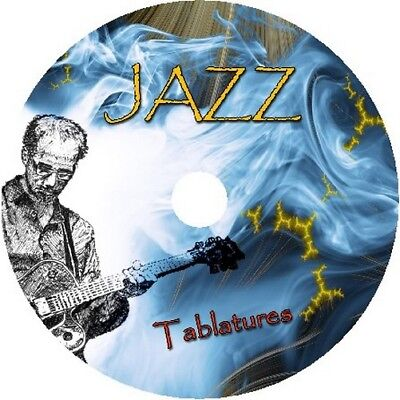 JAZZ BASS & GUITAR TAB CD TABLATURE GREATEST HITS BEST OF ACOUSTIC MUSIC
