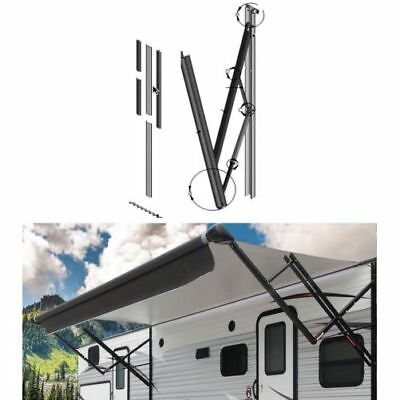 "Lippert 434729 RV Trailer Motorhome 69"" Solera Patio Awning Arm Black"