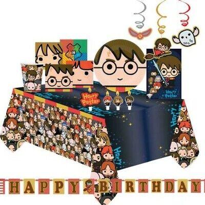 Harry Potter Geburtstagsparty Dekorationen Teller Servietten Tischtuch Halloween