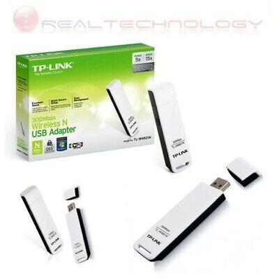 Adaptador de Red USB Wifi Inalámbrico 300Mbps Memoria USB TP-LINK TL-WN821N Nib
