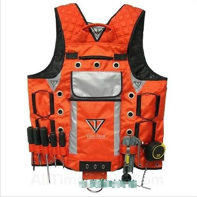 Electrician Plumber Craftman Construction Tool Vest Jacket Bag For Workwear
