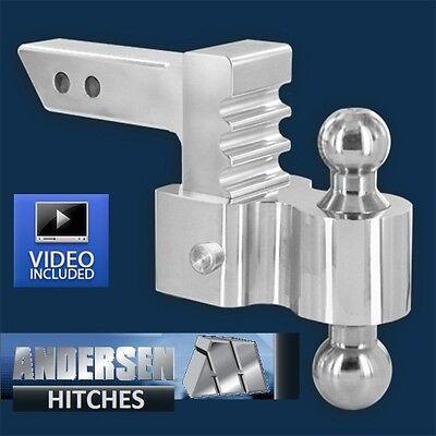 - Andersen 3460 Aluminum Adjustable Rapid Hitch Ball Mount 4