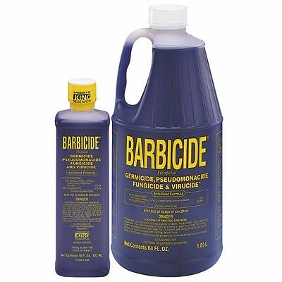 Barbicide Nail Barber & Beauty Salon Disinfectant Fungicide & Virucide 16-64 oz