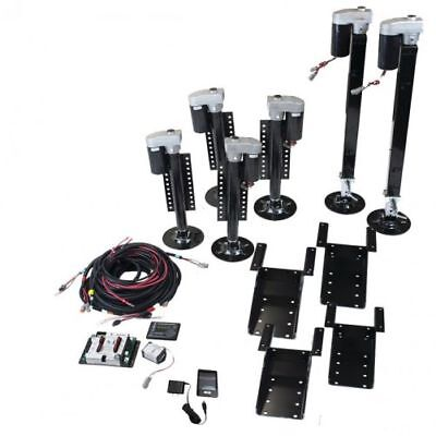 Lippert 675817 RV Trailer Motorhome 6 Point Leveling System Fifth Wheel Kit
