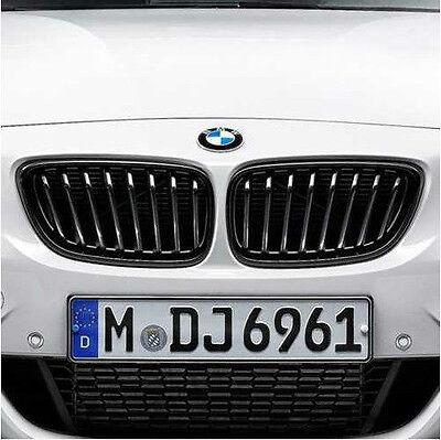 BMW M Performance Black Kidney Grille Set 2014-2017 428i 430iX Coupe 51712336813
