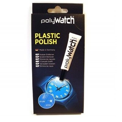 1 x Polywatch Plastic Scratch Remover Repair Polish Poly Watch (Single) -...