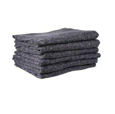 Textile Moving Pads - 6 Pads Skin Furniture Moving Blankets - 22 Lbs.dozen