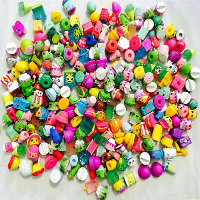 Random Lot of 100PCS Shopkins of Season 1/2/3/4/5/6/7/8 Loose toys kids