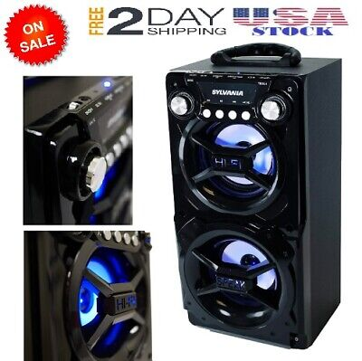 Big Bluetooth Speaker Very Loud Best Portable Large Tailgate Outdoor Party (Best Portable Outdoor Bluetooth Speakers)