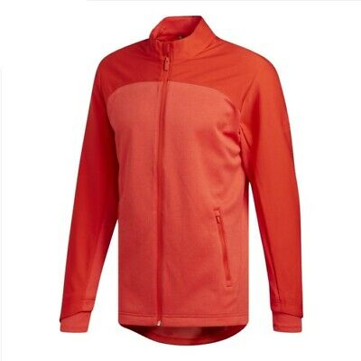 2019 XL Adidas Golf Go-To Full Zip Long Sleeve Jacket (Red) [New with tags]