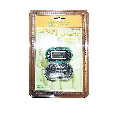 Oregon Scientific Pedometer with Pulse Meter, PE316PM