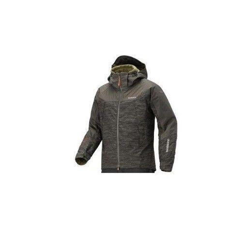 Shimano Dryshield Advance Warm Jacket Ripple Brown Angeljacke Angler Jacke