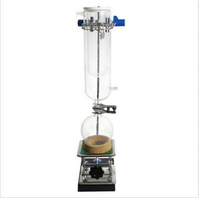 Glass Vacuum Jacketed Dry Ice Cold Trapdouble Layer With 1l Receiving Flask