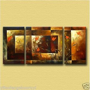 Canvas Wall Art Modern Decor Oil Painting Hand Painted YY01 (No Framed)