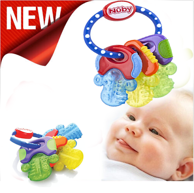 Toy For Children Nuby Ice Gel Teether Keys