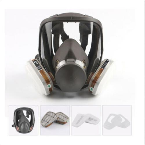 Maske Vollmaske Gasmaske Atemschutzmaske Atemschutz Staubmaske Lackiermaske Neu