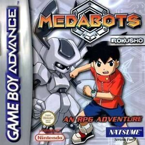 MEDABOTS: ROKUSHO SILVER gba Gameboy Advance Game Boy *RARE*