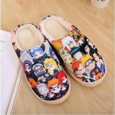 Naruto Cosplay Schuhe (Naruto Cosplay Anime Manga Hausschuhe Pantoffeln Slippers Schuhe Canvas)