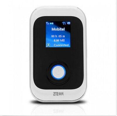 Unlock ZTE MF91 4G FDD-LTE Wifi Router Modem HSPA+ WCDMA EDGE GSM Mobile Hotspot