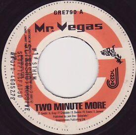 "large collection of vinyl records ragga dancehall singles 7"" vinyl"