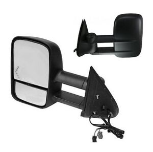 2003 2004 2005 chevrolet silverado 1500 2500 hd lh tow extending mirror w signal ebay. Black Bedroom Furniture Sets. Home Design Ideas