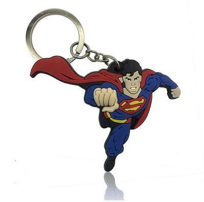 SUPERMAN MARVEL DC COMICS AVENGERS SCHLÜSSELANHÄNGER KEYCHAIN ACCESSOIRS NEU !!!