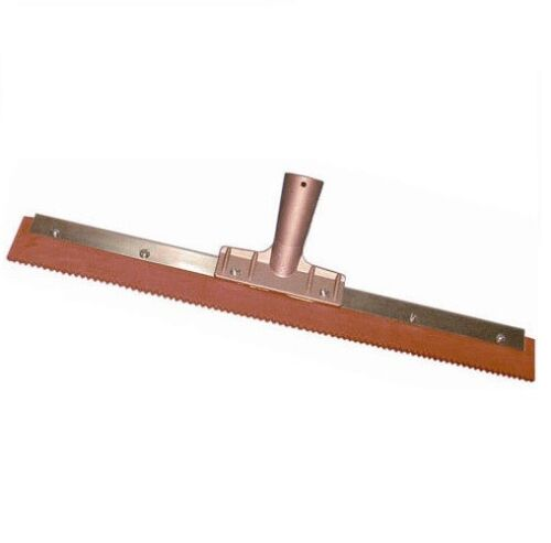 """Magnolia 18"""" Notched, Serrated Squeegee for Epoxy"""