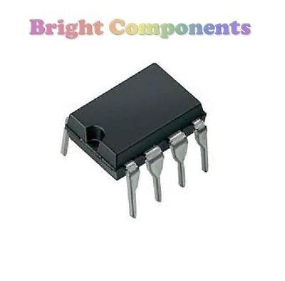 5 x TL072 Op Amp IC (TL072CP) - DIP/DIL8 - Genuine TI - 1st CLASS POST