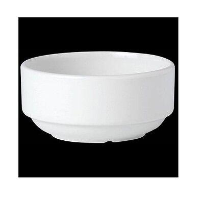 Steelite Plain White Soup Cup 10oz 10 Ounce Soup Cup