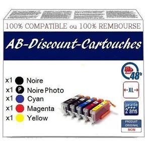 DI16 Cartouches !!NON OEM !! compatibles avec CANON PGI550 / CLI551 - France - État : Neuf: Objet neuf et intact, n'ayant jamais servi, non ouvert, vendu dans son emballage d'origine (lorsqu'il y en a un). L'emballage doit tre le mme que celui de l'objet vendu en magasin, sauf si l'objet a été emballé par le fabricant d - France