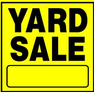 Yard sale. Sat 23 and 24 Everything Must go